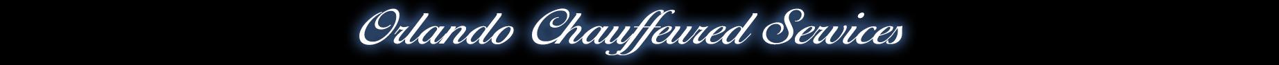 Orlando Chauffeured Services Logo